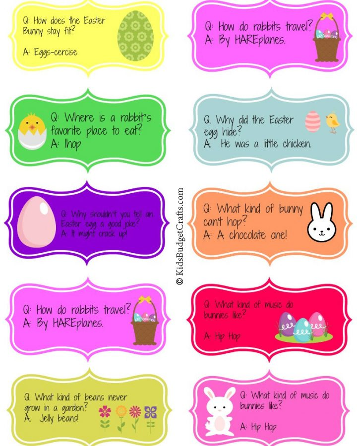 Printable Easter Jokes for Kids