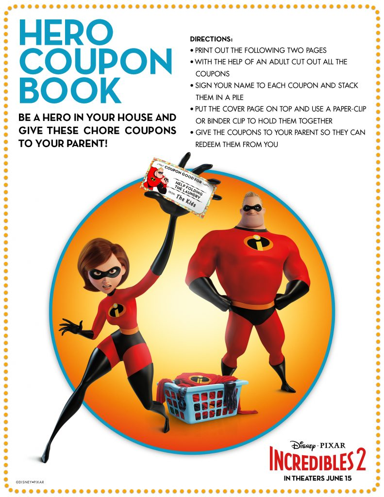 Printable Incredibles 2 Coloring Pages Easy Budget Crafts