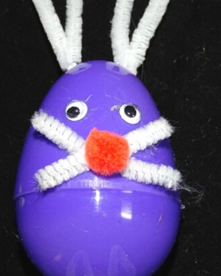 Simple Egg Bunny Craft for Kids