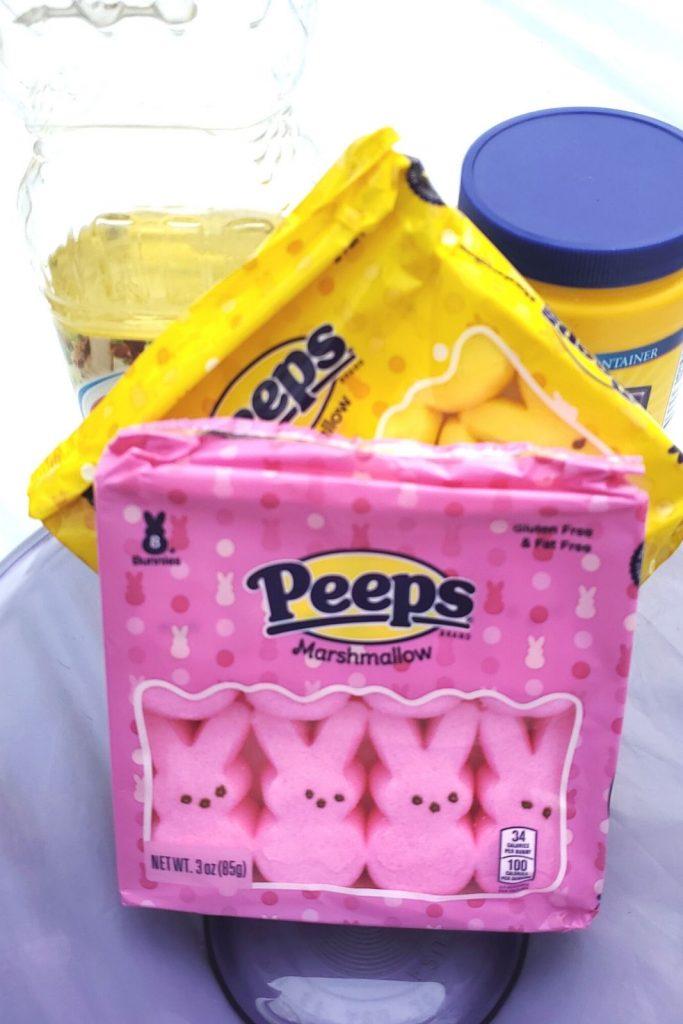 edible slime with peeps