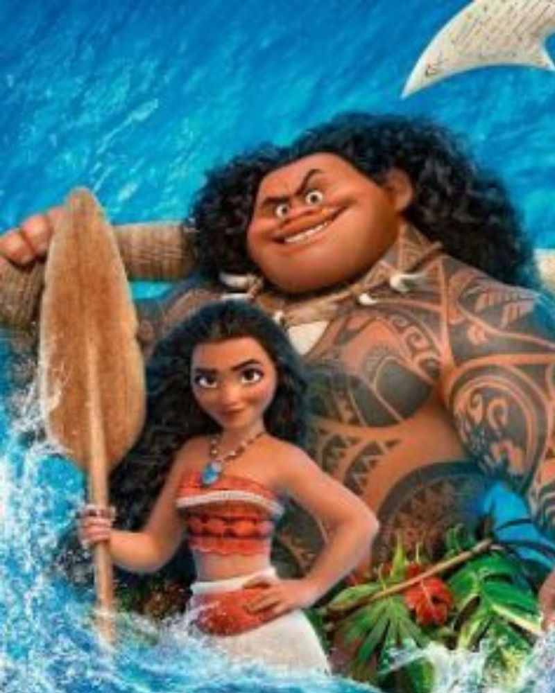 Free Moana Coloring Pages
