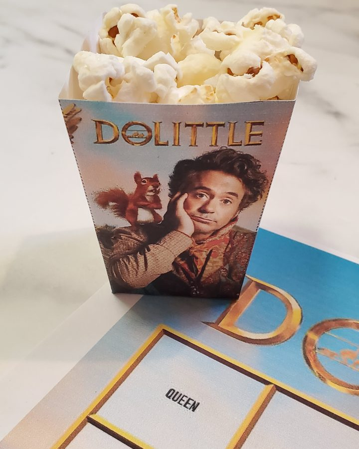 Dolittle popcorn holder