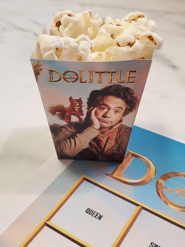 Dolittle popcorn holder